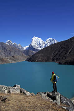 Lac Gokyo Khumbu Everest