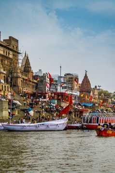Varanasi, la ville sainte sur les berges du Gange