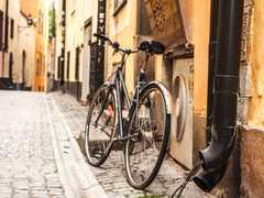 Balade à vélo en Suède à Stockholm