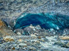 Caves de glace en Islande