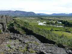 Paysage de Thingvellir en Islande