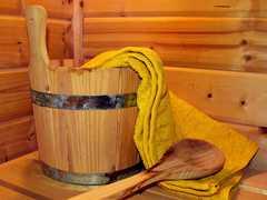 Sauna en bois et bien être