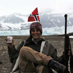 Maud Sevaux, guide arctique 66°Nord
