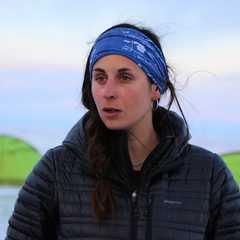 Maud Sevaux, guide arctique au Baikal