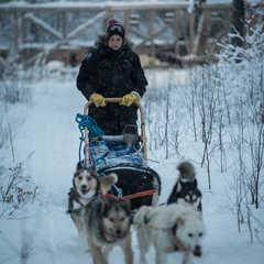 Méryl Trublin, guide arctique en Finlande