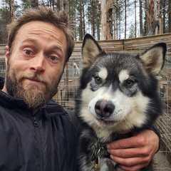 Yannick Long, guide arctique en Finlande