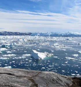 Balade le long de la côte au Groenland
