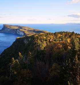Cap Gaspé au Québec, Canada