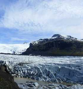Photo du glacier Svinafellsjokull