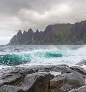 Ile de Senja Norvège du Nord