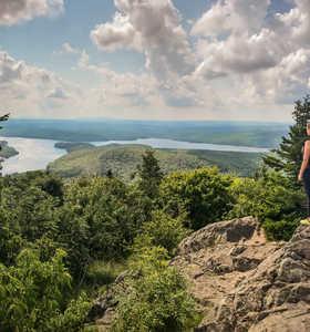 Randonnée dans les parcs naturels du Canada