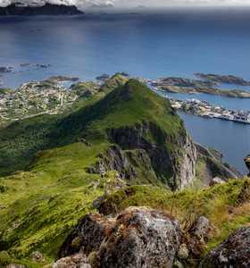Trek aux iles lofoten Norvège