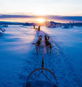 vacances en Laponie en hiver