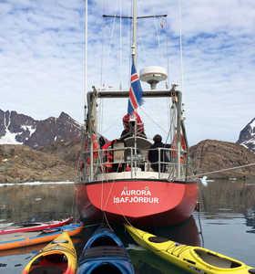 Voilier croisière polaire au Groenland