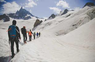 Alpinisme, ascension du mont-blanc