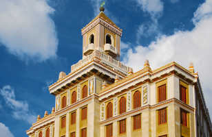 Bureau Altaï Cuba dans l'edificio Bacardi à La Havane