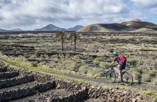 En vélo à Lanzarote