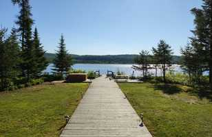 Lac Taureau, Québec, Canada