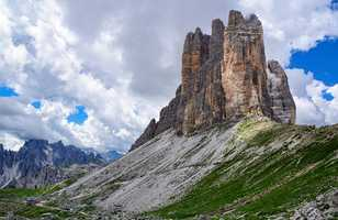 Les Tre Cime dans les Dolomites