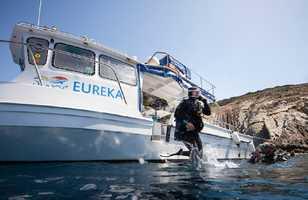 L'Eurêka attend les plongeurs à La Londe