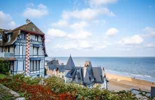 Maison avec vue sur la mer à Trouville