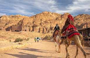 Marche à Petra