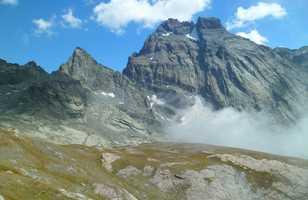 Mont Viso dans les Alpes italiennes