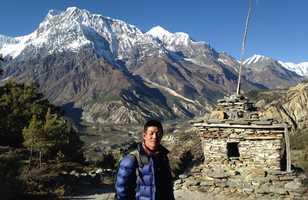 Ngawang Dawa Sherpa, guide Altai