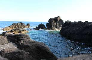 Piscine naturelle dans le Sud de Pico, Açores