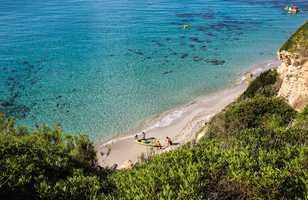 Plage de Binigaus dans la zone la plus sauvage de Minorque