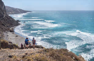 Randonnée côtière à Santo Antao