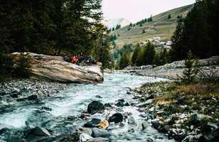 Rivière dans le Queyras