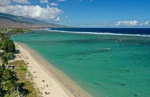 Saint Gilles et son lagon, la Réunion