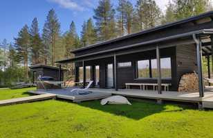 Sauna en Laponie, Finlande