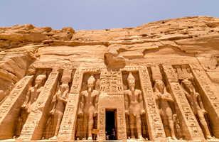 Temple d'Hathor et Nefertari à Abou Simbel