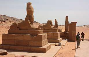 Temple de Wadi Séboua lac Nasser en Egypte