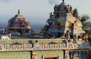 Temple hindou : melting pot culturel de la Réunion