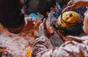 Thé traditionnel avec les Bédouins