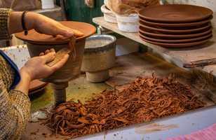 Travail traditionnelle de la céramique