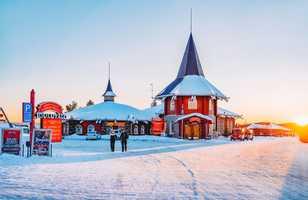 Village du père Noël à Rovaniemi
