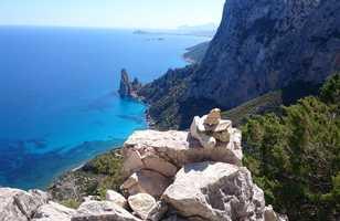 Vue sur la mer Punta Salina Sardaigne