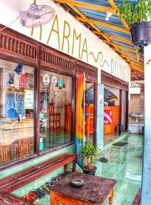 A Nusa Penida, le centre Dune Karma tout en couleurs