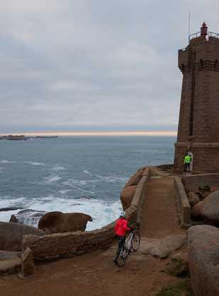 A vélo en Bretagne