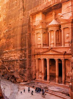 Al Khazneh (Le Trésor) à Petra