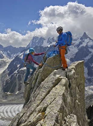 Alpinisme dans le Massif du Mont-Blanc