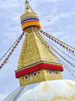 Boudhanath Stupa, Katmandou, Népal