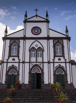 Église à Salga, Sao Miguel, Açores