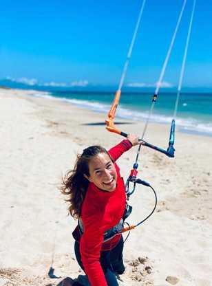 kitesurf session à Tarifa avec ION CLUB