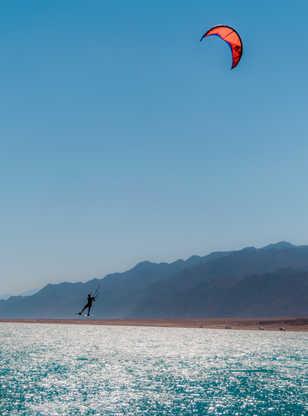 Kite surf à Dahab en Egypte