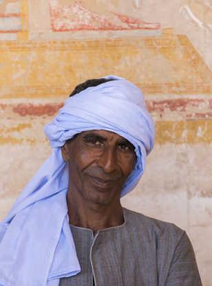 Portrait d'un Egyptien